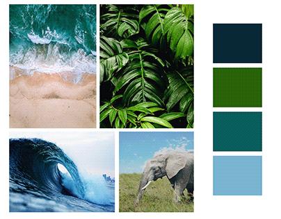 Mood Board Color Palette