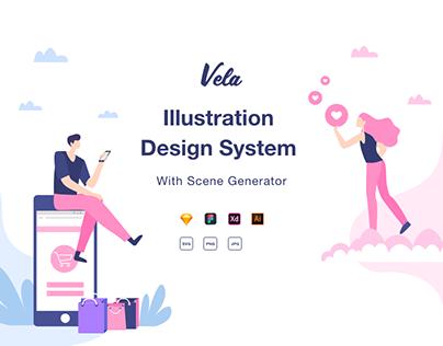 Vela Illustration Design System
