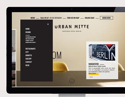 Urban Mitte, Website