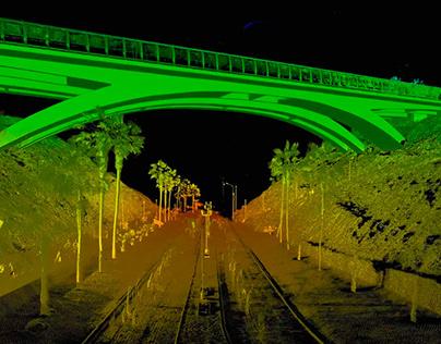 Escaneo Laser (FARO) Del Puente Villena
