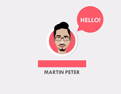 Motion Graphic CV in PowerPoint