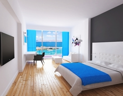 Hotel's sample room for Novobano