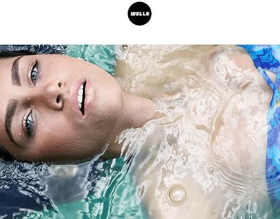 Welle Swimwear - Website