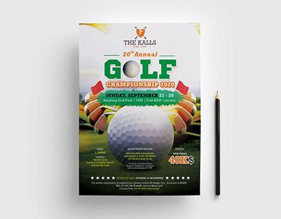 Golf Event/ Tournament Flyer