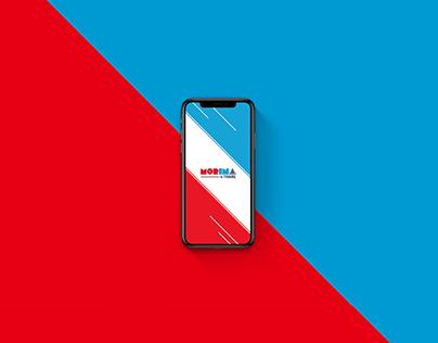 MORINA Travel - Mobile App Design Concept