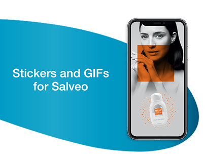 Stickers and GIFs for Salveo