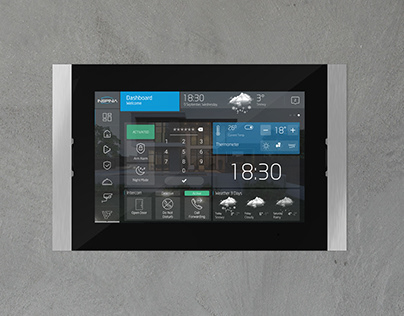 Smart Home Touch Panel UX/UI Design