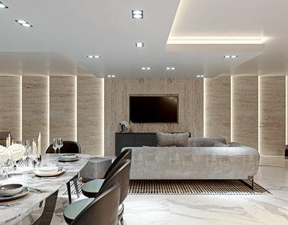Luxury Basement Design_CGI