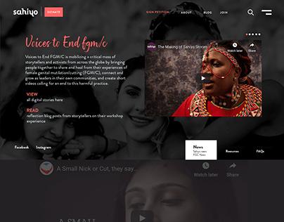 Website Design - Sahiyo