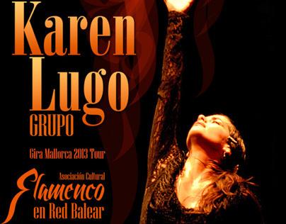 Cartel Karen Lugo Grupo