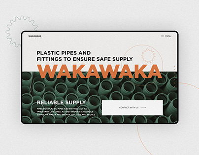 Plastic pipes and fittings production