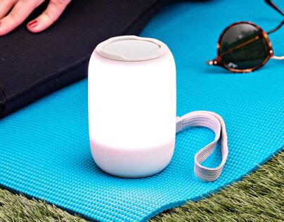 Zenergy Portable | Bluetooth Audio + Sounds + Lighting