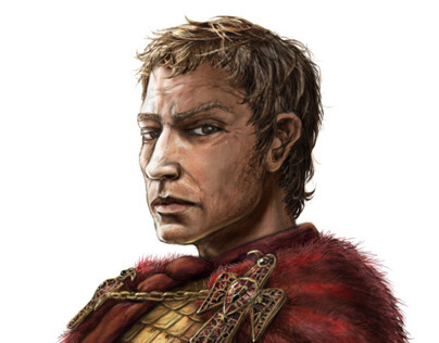 Alaric the King of the Visigoths