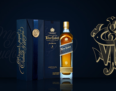 Caligrafía para Johnnie Walker - Blue Label