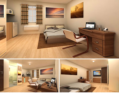 3D Interior Floorplans