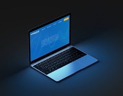 Homepage Redesign Concept: Netwave