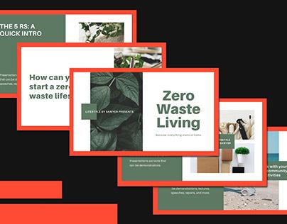 Pitch Desk: Zero Waste Living