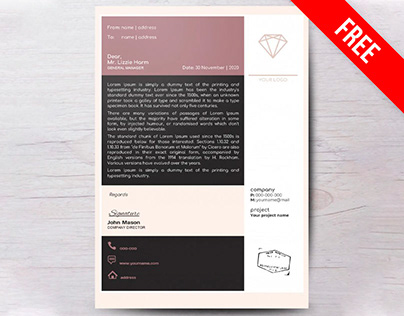 Company Letterhead - free Google Docs Template