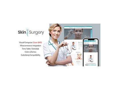 Skin Surgery WordPress Website Theme