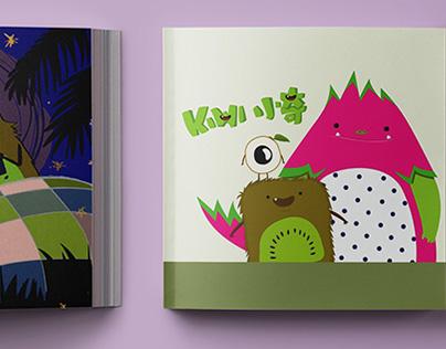 Kiwi the Fruit Monster