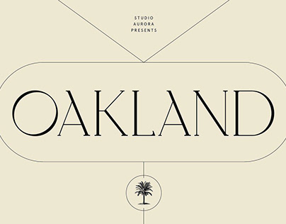 Oakland – Decorative Display Serif Font