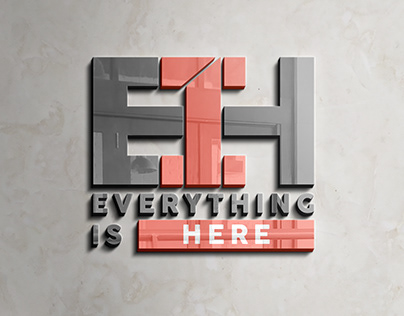 EVERYTHING IS HERE Logo Design