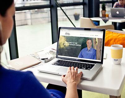 Dieter Jansen Group UI/UX Design