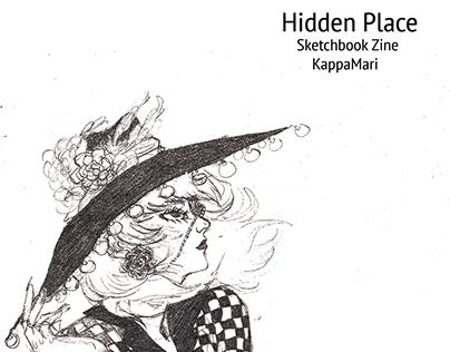 Hidden Place: Sketchbook Zine