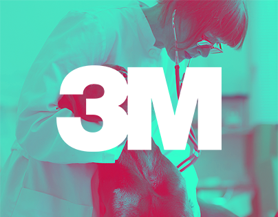 3M - corporate website, using new visual identity