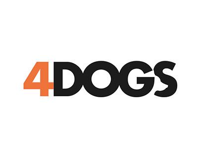4Dogs - Brand identity