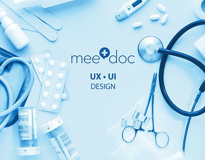 UX/UI: MeeDoc- doctor in your pocket