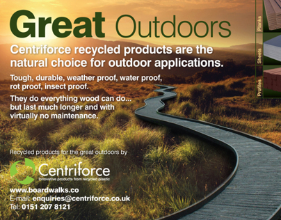 Centriforce - Magazine Advertising
