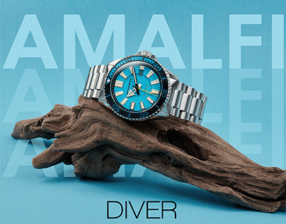 Amalfi Diver (Digital Marketing Campaign)