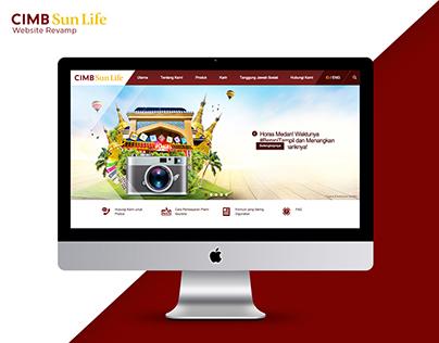 CIMB Sun Life Website Revamp