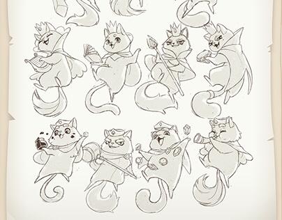 Shuffle Cats - Cards