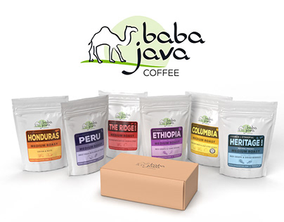 Baba Java Bag & Label Design