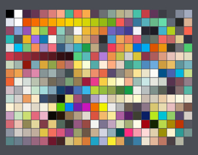 Vol.2 of Photoshop Swatches Library for Flat UI Design