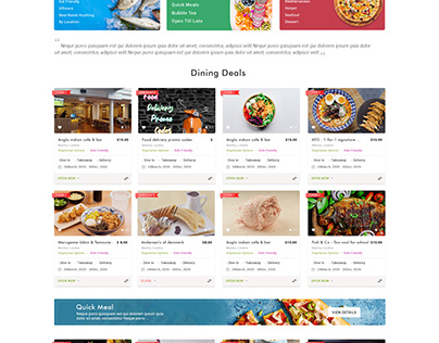 Website Redesign for Huntingmama (Restaurant Website)