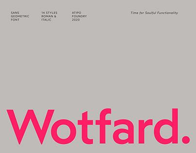 Wotfard Font
