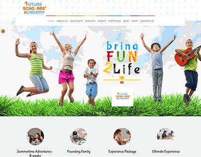 Kinder Garten Website Created by Shamim