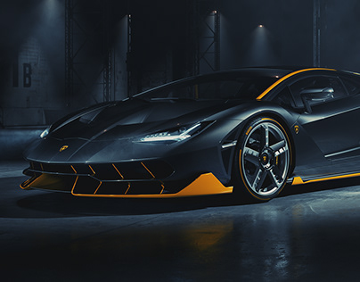 Lamborghini Centenario – Full CGI