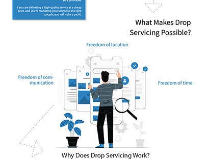 Drop Servicing - Infographic