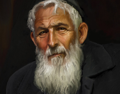 Portrait oh Old Man