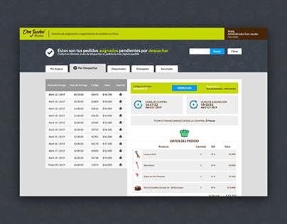 Plataforma de Tracking - Don Jacobo Postres y Ponqués