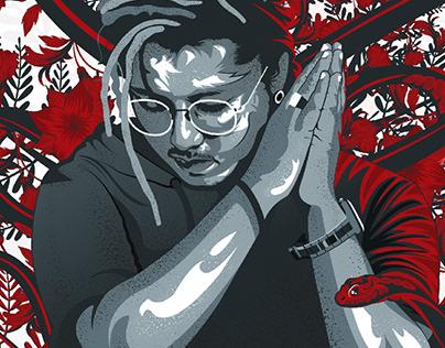 Adobe Illustrator Ideas-Creative Portrait