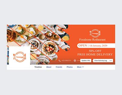 Restaurant Facebook Cover Photo Design 2020