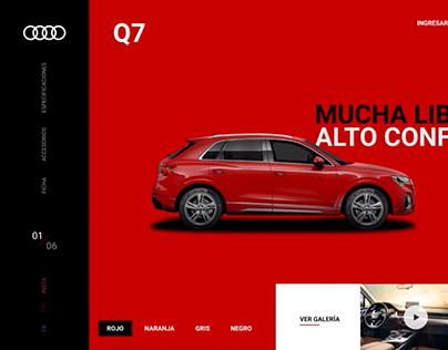 Audi Perú   Landing Web