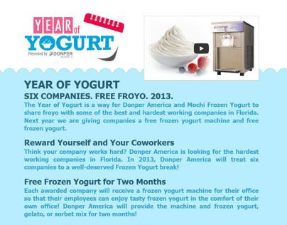 Year of Yogurt