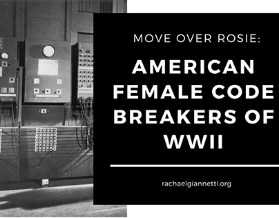 American Female Code Breakers Of WWII