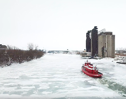 Minute Monday: Ice Breaking on the Buffalo River